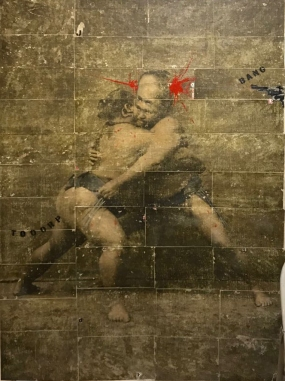 lottatori sumo 180x200 2018 arazzo